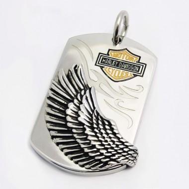 Ocelový přívěsek - Harley D. (5241)