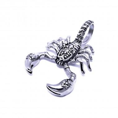 Ocelový přívěsek - Škorpion / Scorpion  (6717)