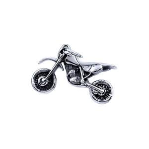 Ocelový přívěsek - Motorka / Cross Motorcycle (8155)
