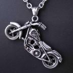 Ocelový přívěsek - Motorka / Motorcycle 07 (big)