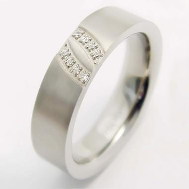 Ocelový prsten - Andre Nicol (0784)