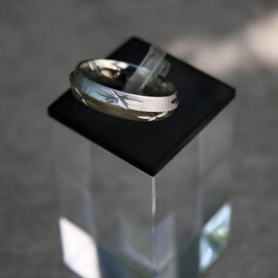 Ocelový prsten Micro-Stars