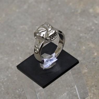Ocelový prsten Gepard I.