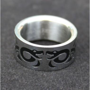 Ocelový prsten B - Snakes