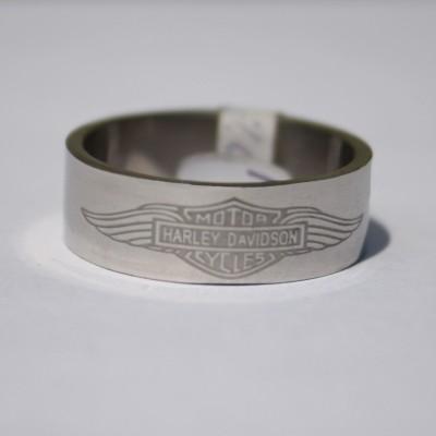 Ocelový prsten H. D. I.