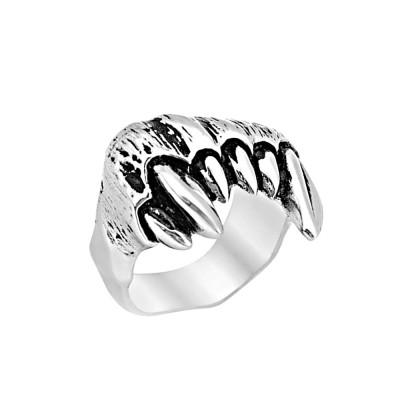 Ocelový prsten - Vamíří Zuby / Vampire Teeth