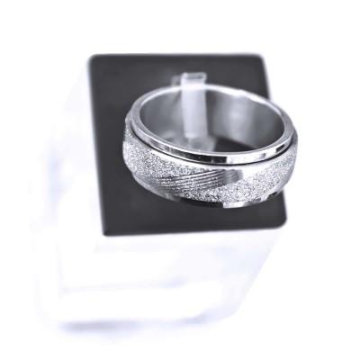 Ocelový prsten - Spinning SB.Ornament 002