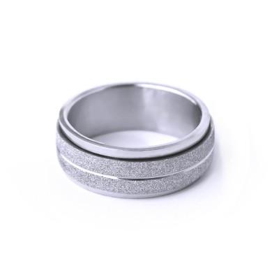 Ocelový prsten - Spinning SB.Ornament 006