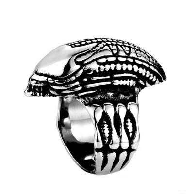 Ocelový prsten - Vetřelec / Alien