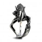Ocelový prsten - Vetřelec / Alien 02