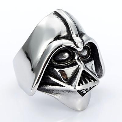 Ocelový prsten - Darth Vader / Shiny (015)
