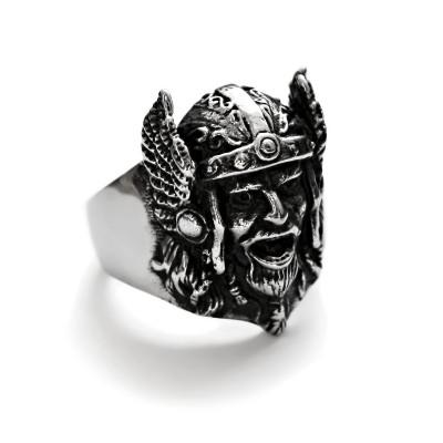 Ocelový Prsten - Pohanský válečník / Pagan Celtic warrior
