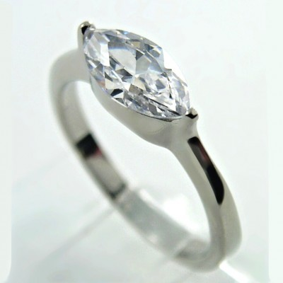 Ocelový prsten EXEED - Stone (2687)