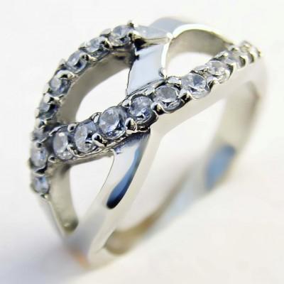 Ocelový prsten EXEED - Stones (3182)