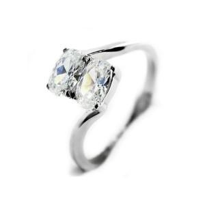 Ocelový prsten EXEED - Dva zirkony / 2 Stones ( 3164)