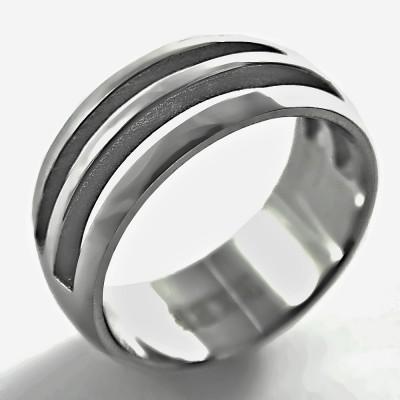 Ocelový prsten EXEED - Matt (2631)