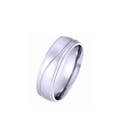 Ocelový prsten - Shiny (6384.)