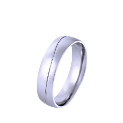 Ocelový prsten - Shiny (40303)