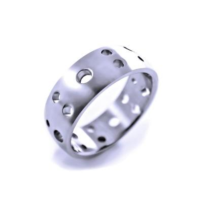Ocelový prsten EXEED - Matt (2409)