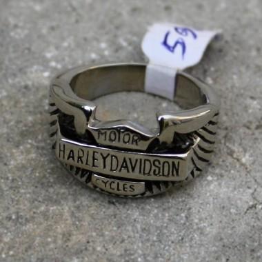 Ocelový prsten H.D.