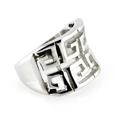 Ocelový prsten - Greek (5255)