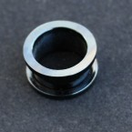 Tunel 14 mm STEEL-Black