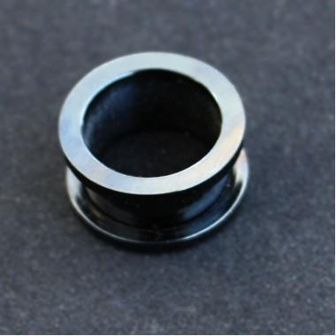 Tunel 16 mm STEEL-Black