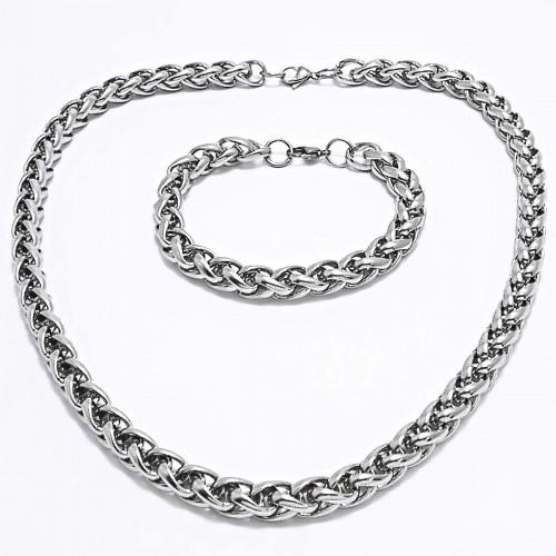 bb612a818f Ocelový náhrdelník + náramek Celtic 1 cm   shiny (7929)
