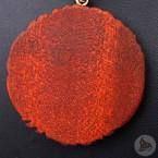 Ocelový náhrdelník - Přívěsek Pentagram / Strom Života (Mahagon) 01 + Řetízek Rings